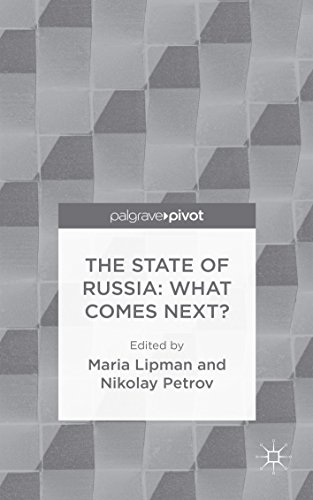 The State of Russia: What Comes Next? Pdf