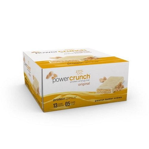 Bio Protein Bar - BioNutritional Power Crunch Bars Peanut Butter Creme, 12 Count (16.8 oz) (480G)