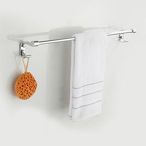 mdrw-towelラックタオルバーバスルームバスルームステンレススチールシングルポールSingle B0769WWTFH