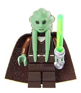 LEGO Star Wars Kit Fisto Deluxe minifig (torso variation)