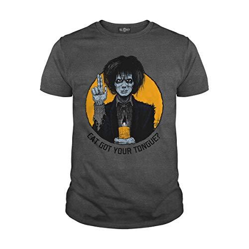 Men's Cat Got Your Tongue T-Shirt (2XL, Dark Heather) -