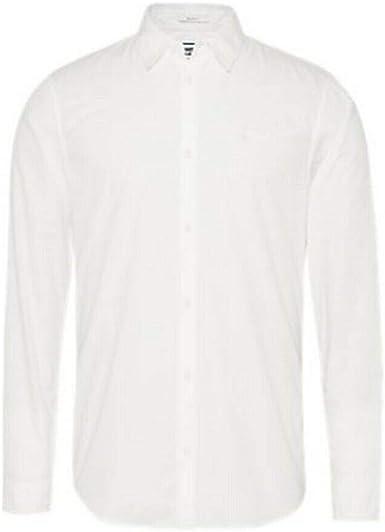 Tommy Jeans DM0DM08394-YBR - Camisa para hombre, manga larga ...