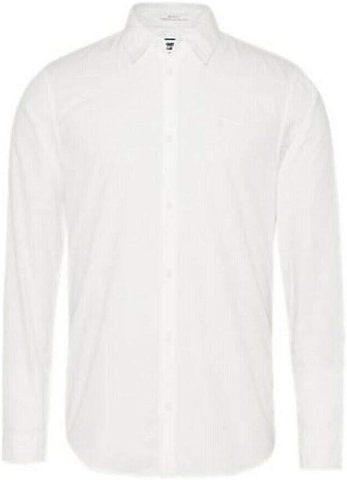 Tommy Jeans DM0DM08394-YBR - Camisa para hombre ...