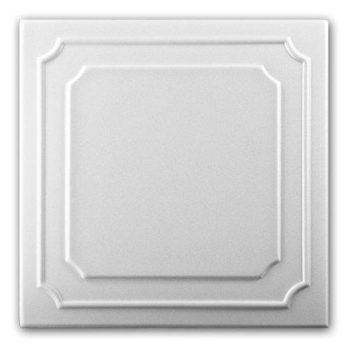 Polystyrene Foam Ceiling Tiles Panels 0802 (Pack 88 pcs) 22 sqm White