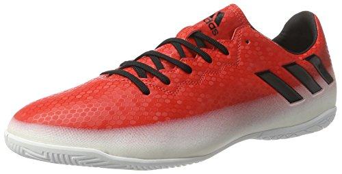 adidas Messi 16.4 In, Botas de Fútbol para Hombre Rojo (Red C Ore Blackfootwear White)