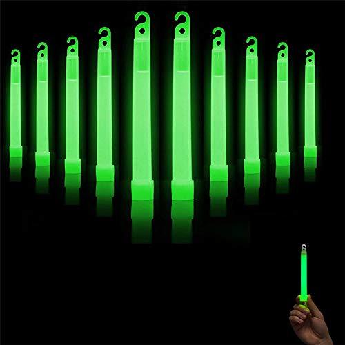 Linker Wish Glow Sticks Bulk New 10 Pcs Premium Bright Green Glow Sticks Fluorescent Neon Party Hot Gift
