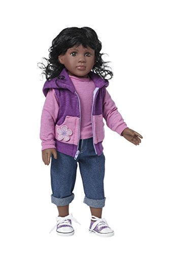 Search : Starpath African American Girl Doll – 18' Vinyl, Included Custom Fairy Tail e-Book Starring you and your Star Path Doll, Fits American Girl