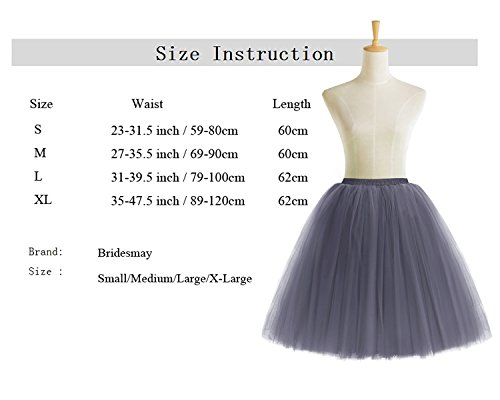 Tulle en varies Vintage Couches Tutu Bridesmay rtro Jupon Couleurs Jupe Navy 5 YqvgIt8