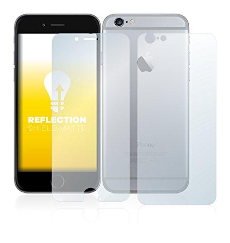 upscreen Scratch Shield Pellicola Protettiva Opaca Apple iPhone 6 (Anteriore + Posteriore) Protezione Schermo – Antiriflesso, Anti-Impronte