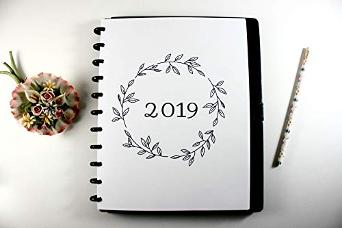 2019 Monthly Calendar for Discbound Planners, 12 Month Calendar, Fits with Circa Letter, Arc by Staples, TUL, Letter Size (8.5'' x 11''), (Planner sold separately), Circa 2019 Refill, Arc 2019 Refill