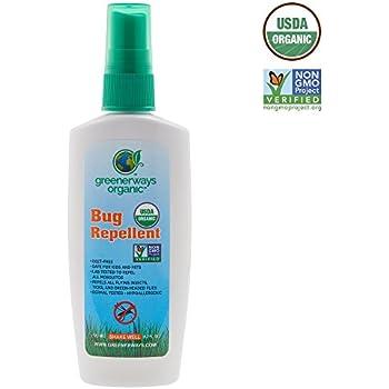 Greenerways Bug Spray Organic, 4 oz