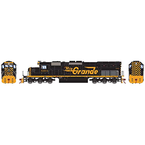 Used, Athearn HO RTR SD40T-2 with DCC & Sound D&RGW #5394 for sale  Delivered anywhere in USA