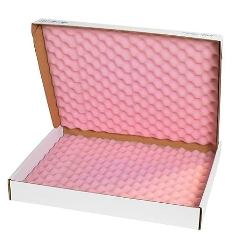 Pink//White Tape Logic TLFSA963 Anti-Static Foam Shippers Pack of 24 9 x 6 x 3 1//4