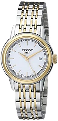 Tissot Women's T0852102201100 Carson Analog Display Swiss Quartz Two Tone Watch