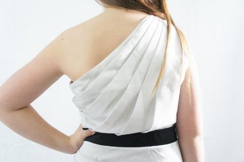 Beige Einfarbig Silver Ivory LipsyDamen Kleid awZYEqCx8