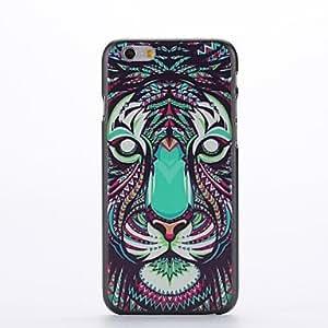 MOFY- animales patr—n de dise–o del tigre de pl‡stico duro de la contraportada para el iphone 6 m‡s
