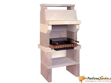 Barbecue En Pierre De Sireuil Croisic Amazonfr Cuisine Maison - Barbecue de jardin en pierre
