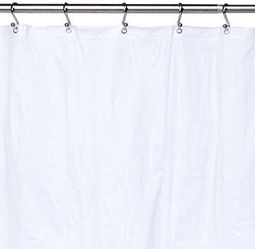 Ex-Cell Eco Soft Shower Curtain Liner, Frosty (Excell Eco Soft Peva Shower Curtain Liner)