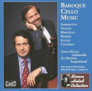 Baroque Cello Stas: Sammartini, Eccles, Etc