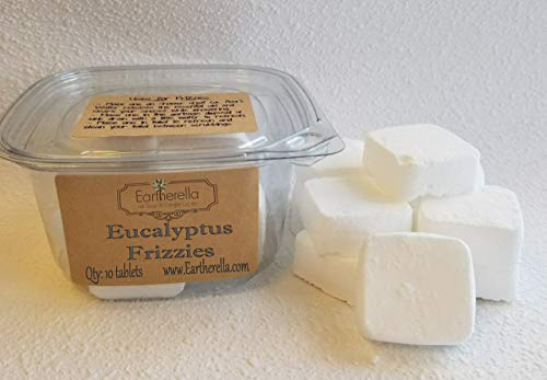 Eucalyptus Shower FRIZZIES Steamers essential oil