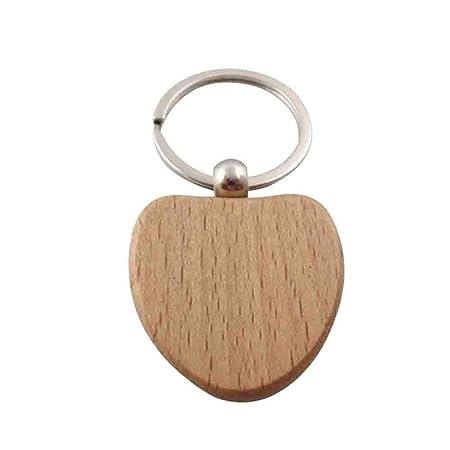 Mackur Diy Holz Schlusselanhanger Holz Schlusselring Fur Gravur