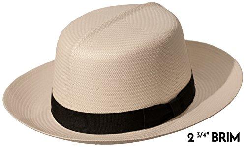 Casa Blanca Optimo Crown Panama Hat (XLarge 2 3/4