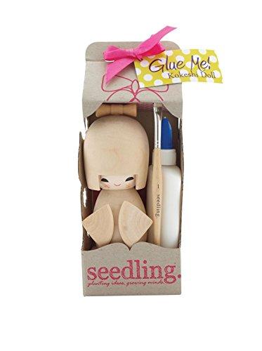 Glue Me Kokeshi Doll Kit