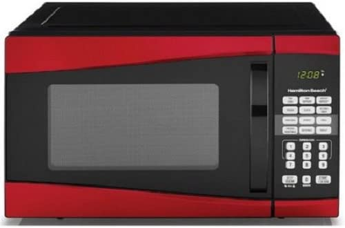 Hamilton Beach 0.9 cu ft 900W Microwave,by Product Hamilton Beach (Red)
