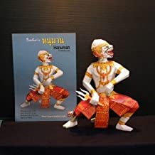 Paper Ramayana Model Toy and 3 D Cut-out Statue - Ha-Nu-Man(Chief Monkey) Type 2