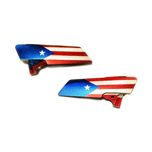 Planet Eclipse Eye Cover Kit - CS1 / CS1.5 - Puerto Rico Flag
