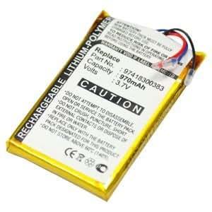 subtel® Batería premium para Sony MX-M70 M75 M77 PMX-M79 M86 M88 M89 (970mAh) 97418300383 bateria de repuesto, pila reemplazo, sustitución