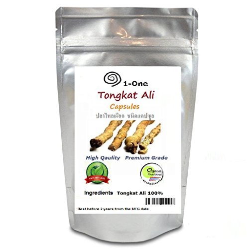 Tongkat Ali 100 Capsules @500 mg. eurycoma Longifolia Ingredients 100% Tongkat Ali Root