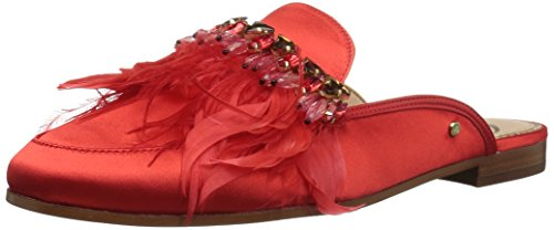 Sam Edelman Women's Landis Loafer Flat, Passion Red, 9.5 Medium US by Sam Edelman