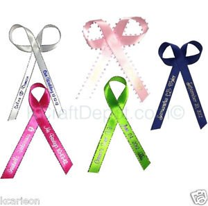 100 Personalized Ribbon 1/4