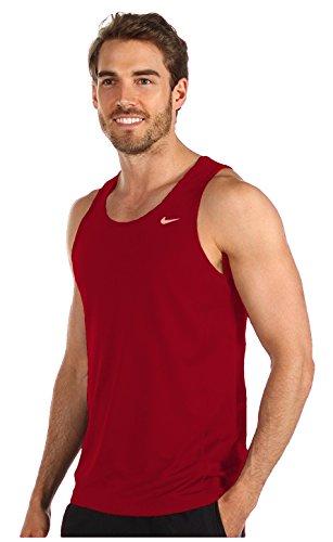 Nike Dri-Fit Contour Singlet - Men's (X-Large, Red)