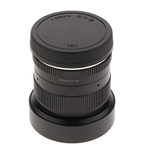 IVELECT 12mm f/2.8 HD Manual Focus Wide Angle Lens for Sony E-Mount APS-C Digital Cameras