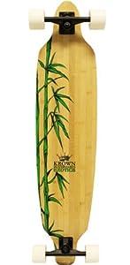 Krown Krex 2 Bamboo Freestyle Complete Longboard, 9.25x41-Inch from KROWN