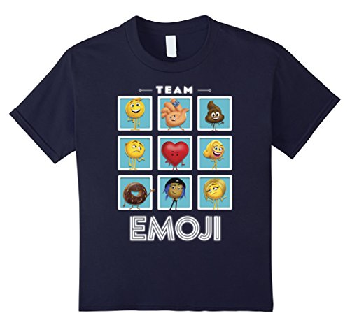 The Emoji Movie Team Emoji Panels Graphic T-Shirt