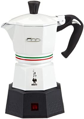 Bialetti Elektrika Fiat 500 - Cafetera italiana eléctrica (3 ...