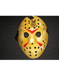 KANE HODDER Signed Hockey Mask Friday 13th Jason Voorhees HORROR COA