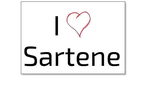 Amazon.com: I Love Sartene, fridge magnet (design 2): Kitchen & Dining