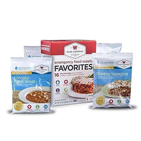 Amazon.com: Wise Foods Emergency suministro de alimentos de ...