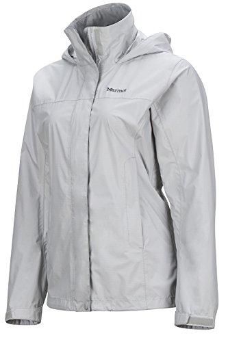 Marmot PreCip Women's Lightweight Waterproof Rain Jacket, Platinum, X-Small by Marmot (Image #3)
