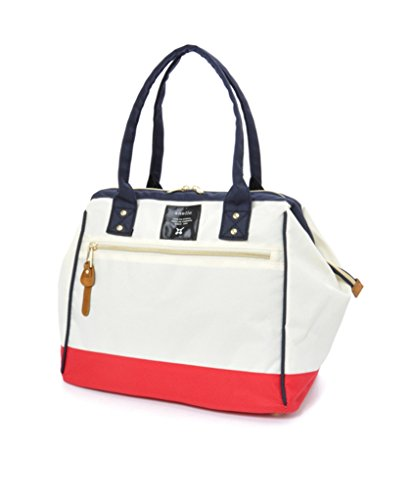 Anello Polyester Canvas Waterproof Boston Shoulder Bag Handbag ()