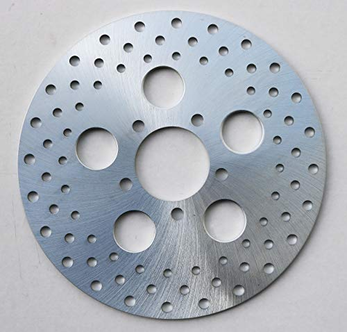 Ultima Zinc Plated Steel Rotor, FX Rear '73-'78. XL & FX, Front single disc '73. FL Front & Rear '72-'78, 90-207 (Inch 10 Rotor Front)