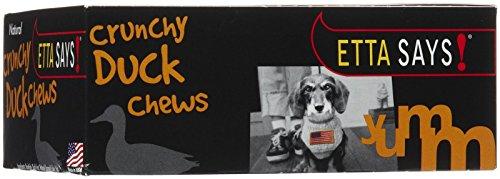 Etta Says! Natural Crunchy Duck Chews Dog Treats, 4