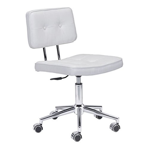 Zuo Series Office Chair, White