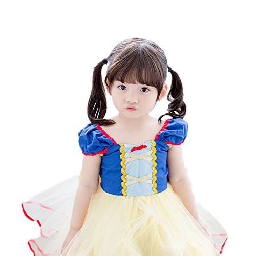 Snow White Toddler Dress (Bigface Up Baby Girl's Snow White princess Costume Party Halloween Dress(110))