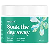ASUTRA Dead Sea Bath Salts (Muscle & Joint Relief), 16 oz | Melt The Aches & Pains Away | Soak in...