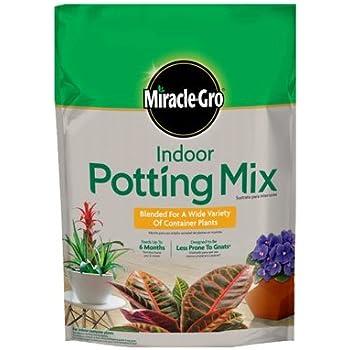 Miracle Gro Indoor Potting Mix 72776430 6 Quart